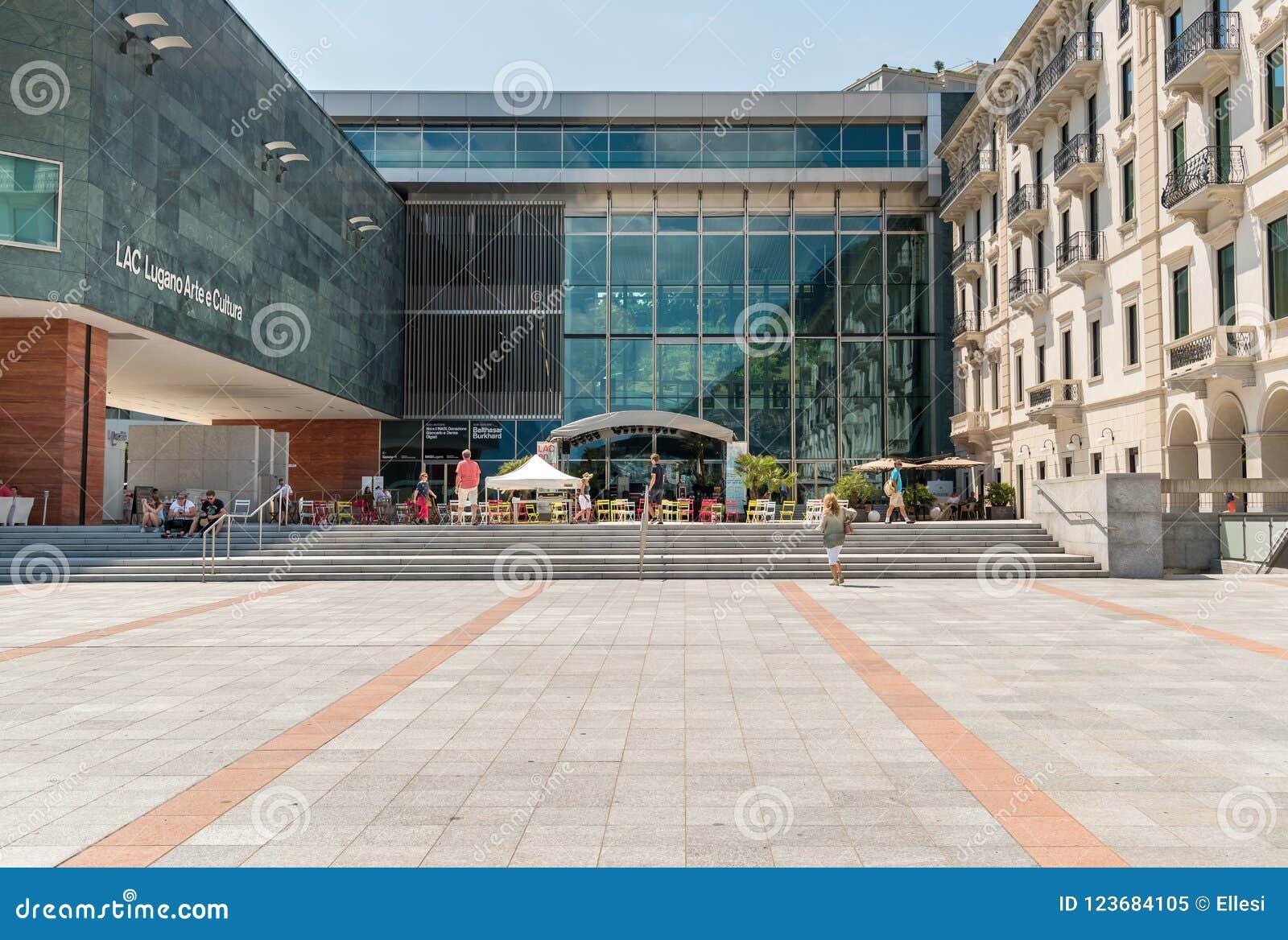 Museet för för GUMMILACKALugano konst och kultur, är den största kulturella mitten i staden av Lugano i kantonen av Ticino som lo