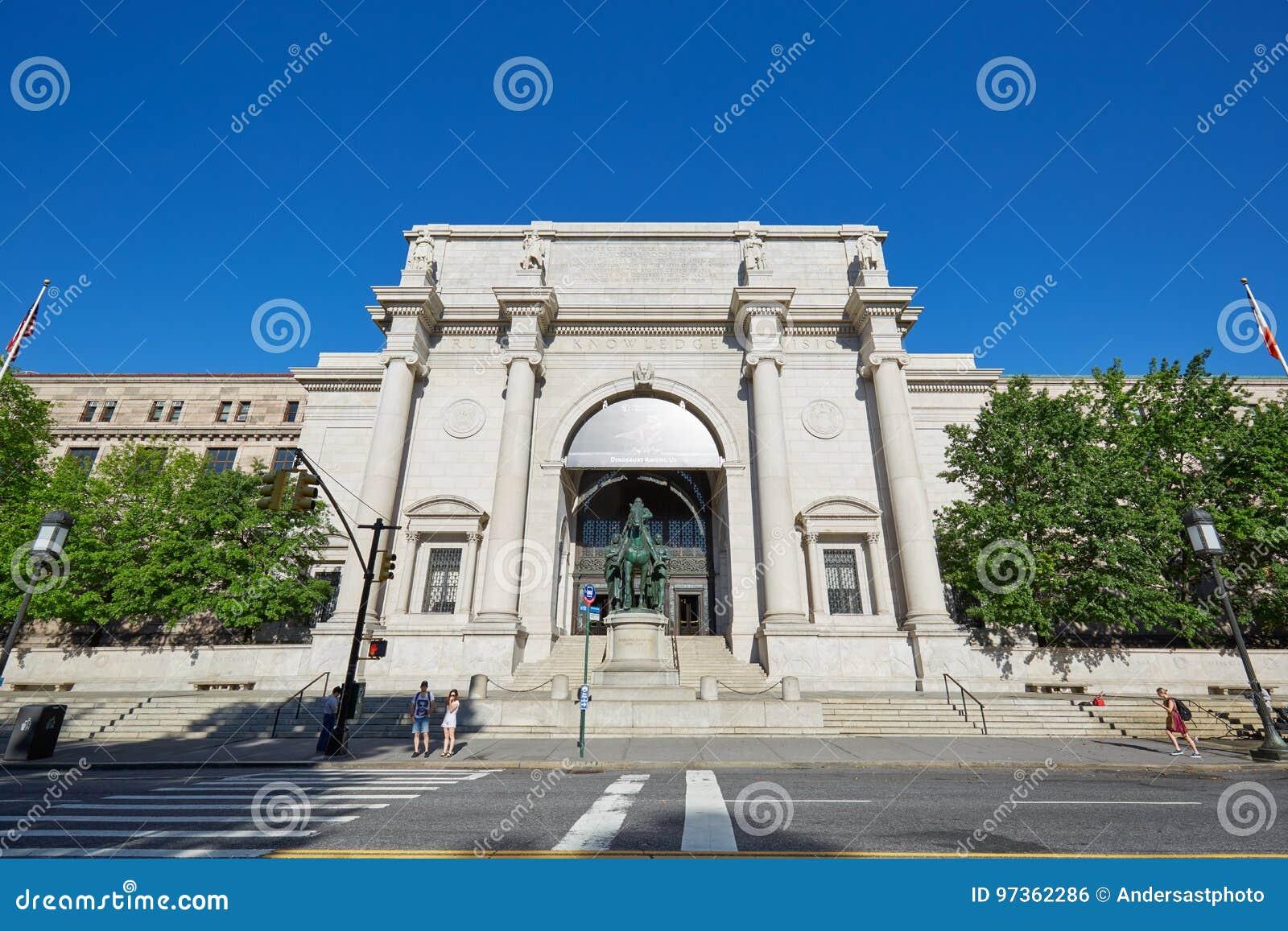 Museo Storia Naturale New York.Museo Americano Della Facciata Della Costruzione Di Storia Naturale