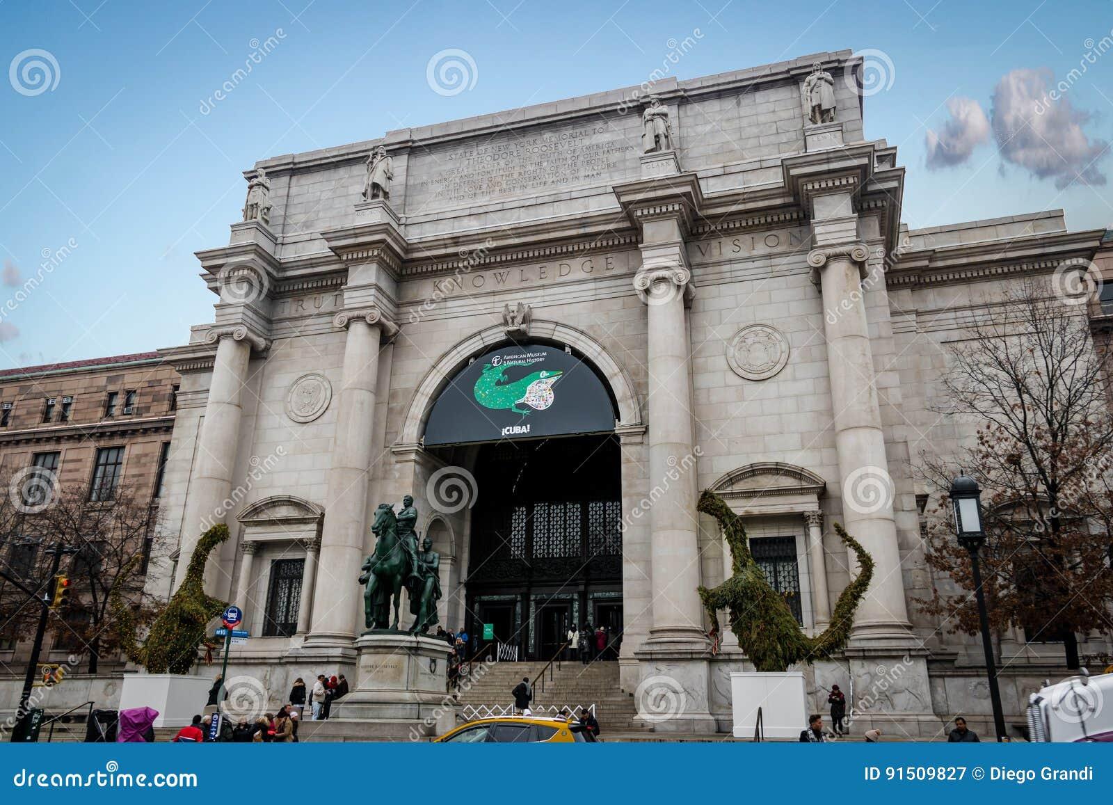 Museo Storia Naturale New York.Museo Americano Di Storia Naturale A New York New York U S A