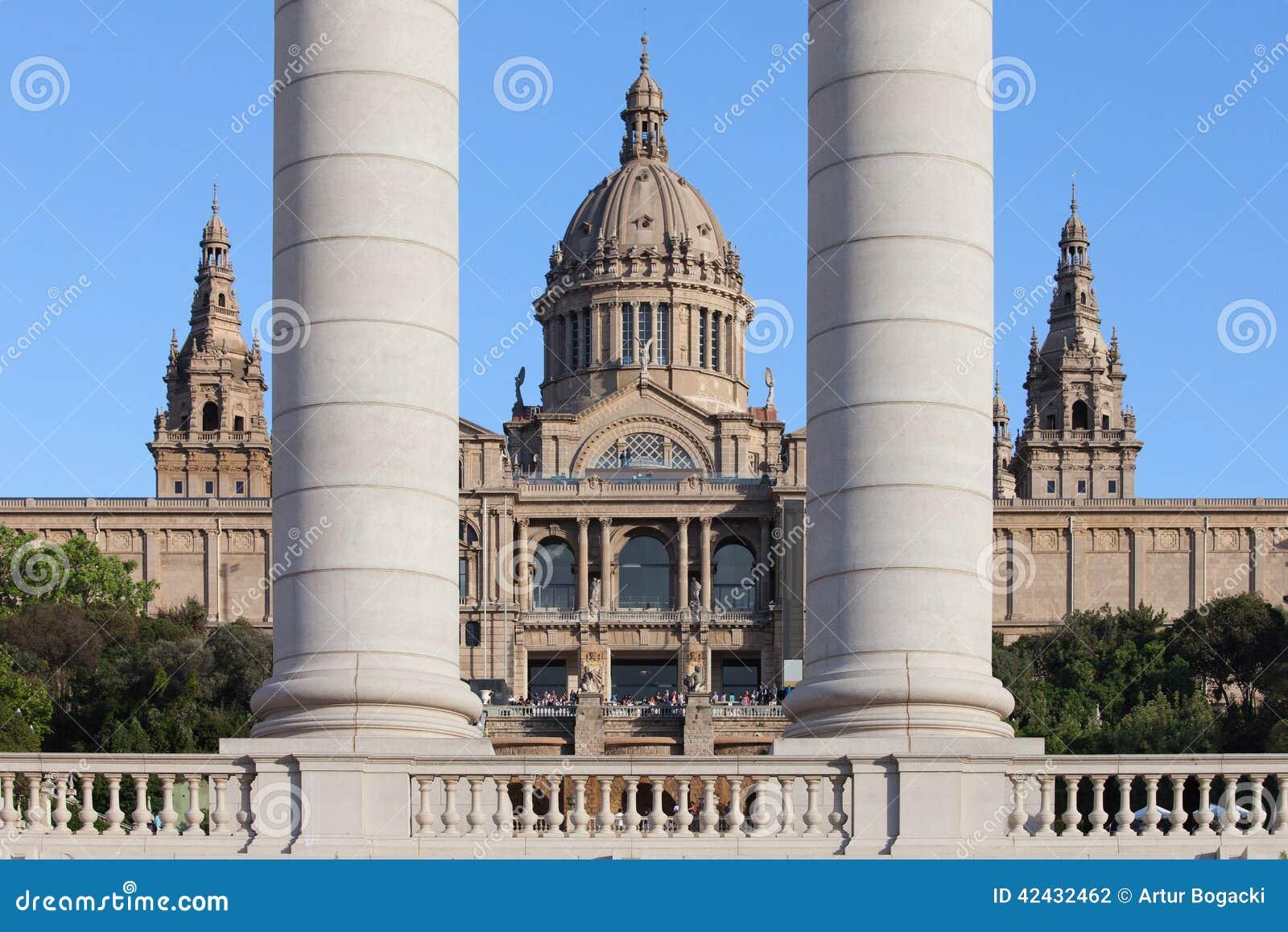 Museo de arte nacional de Cataluña en Barcelona