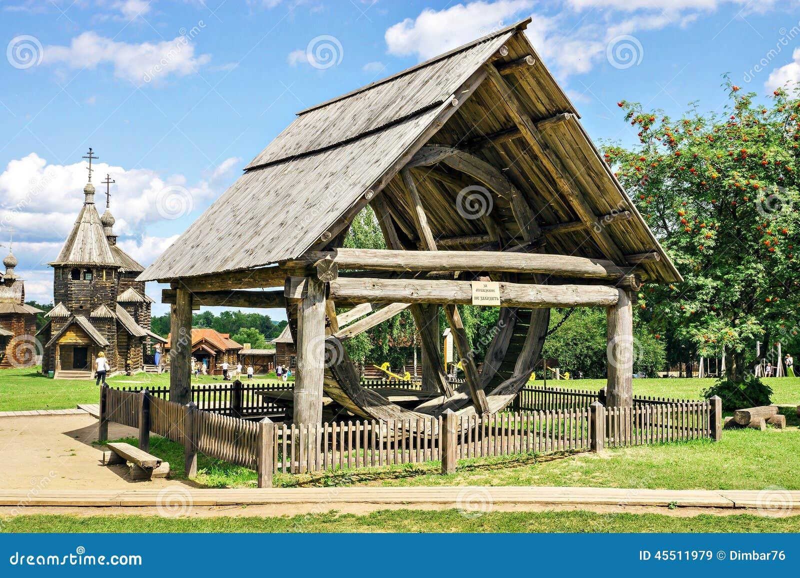 Museo de la arquitectura de madera en suzdal rusia foto for Arquitectura de madera