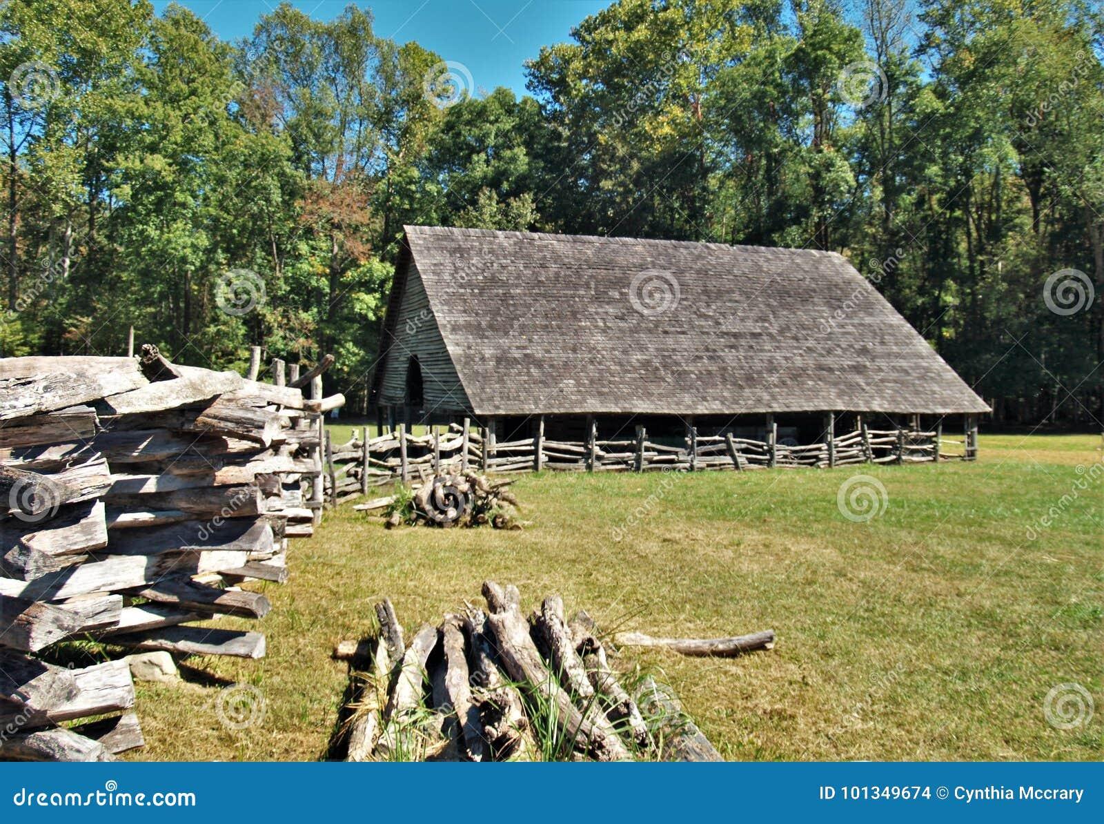 Museo de la granja de la montaña de Oconaluftee