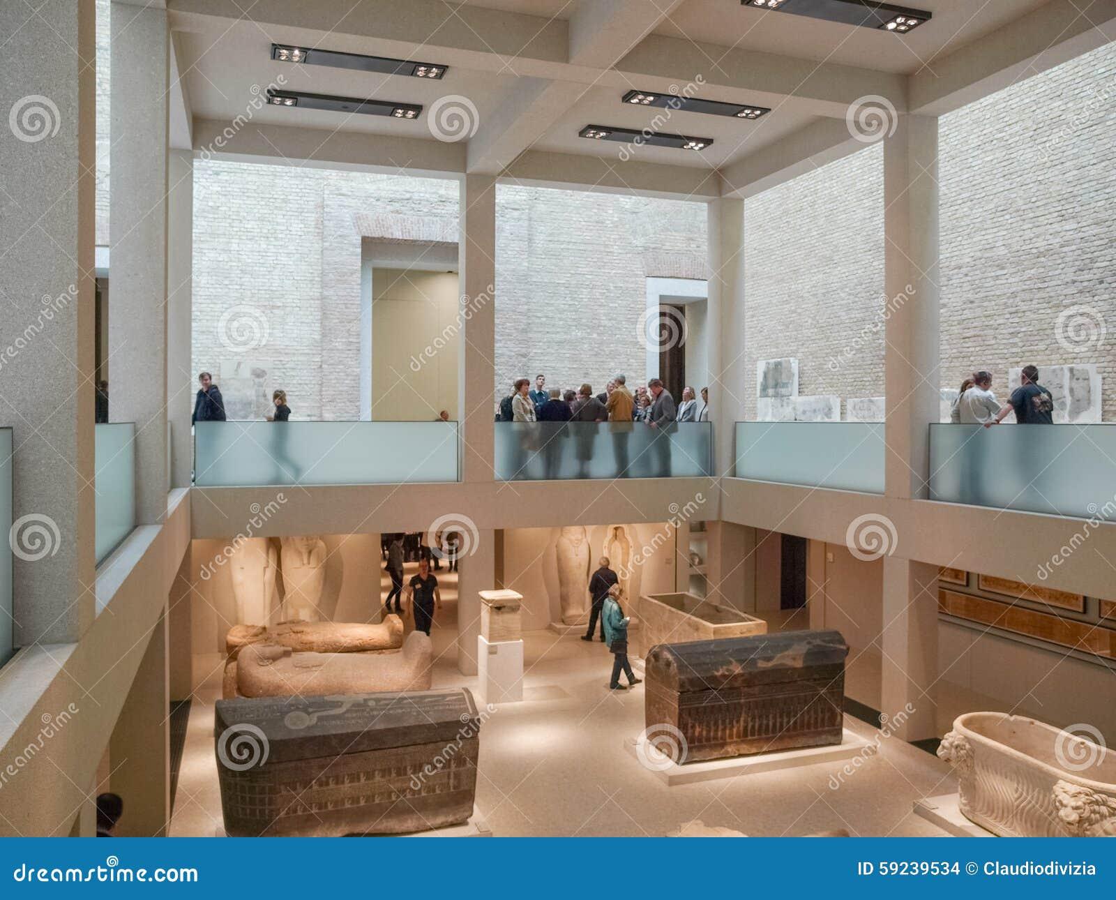 Download Museo de Neues en Berlín imagen de archivo editorial. Imagen de señal - 59239534