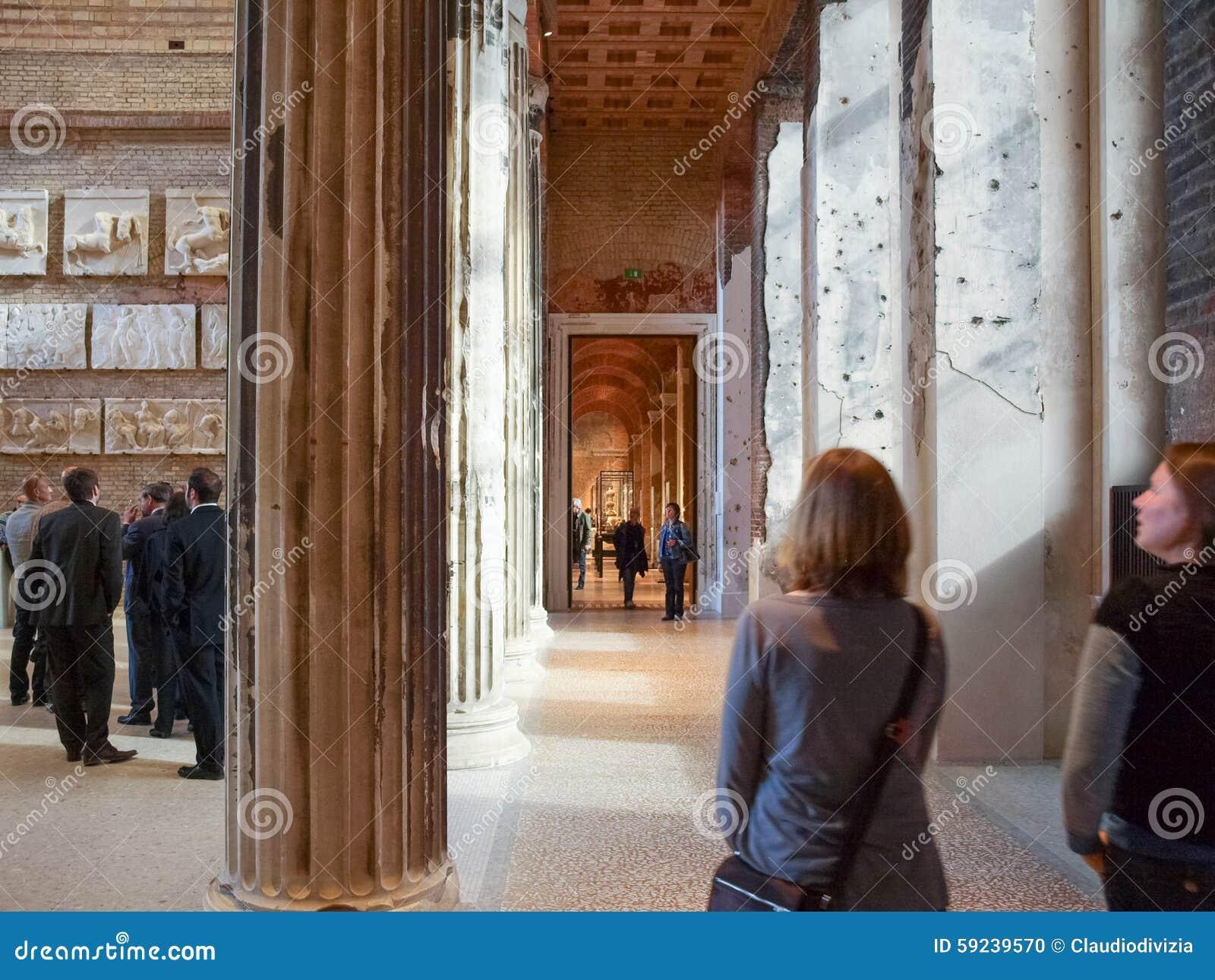 Download Museo de Neues en Berlín imagen editorial. Imagen de unido - 59239570