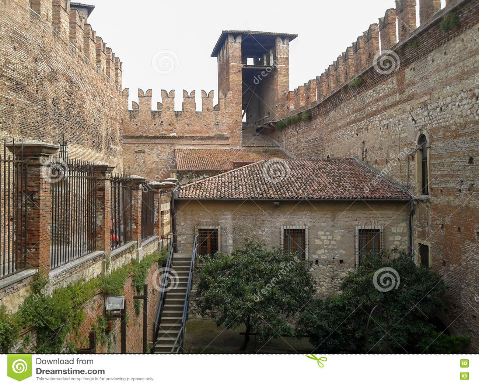 Museo Di Castelvecchio.Museo Di Castelvecchio A Verona Immagine Editoriale Immagine Di