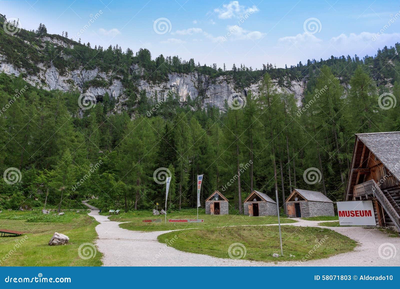 Museo di Dachstein, caverna