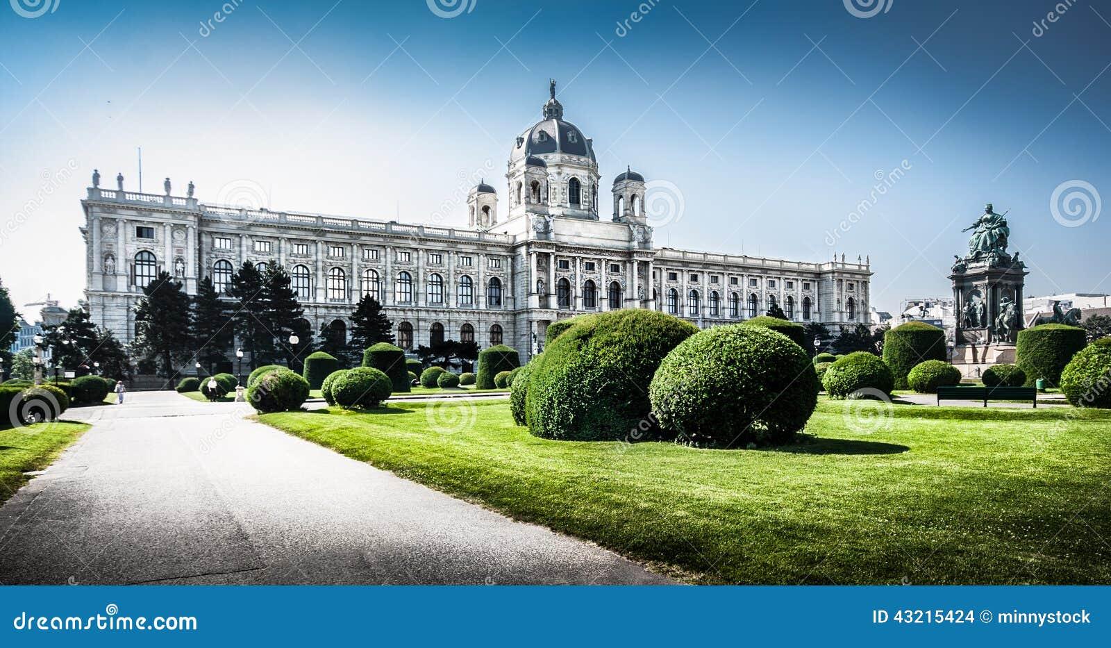 Museo famoso de Art History en Viena, Austria