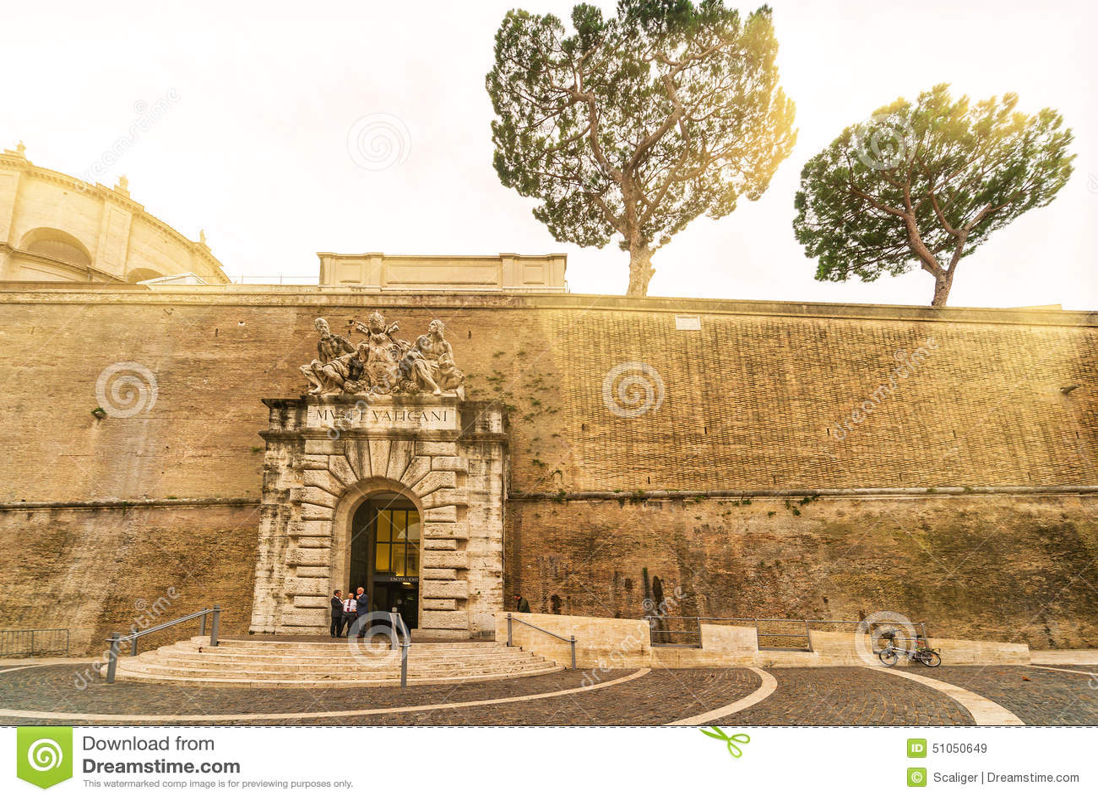 Museo famoso del Vaticano en Roma