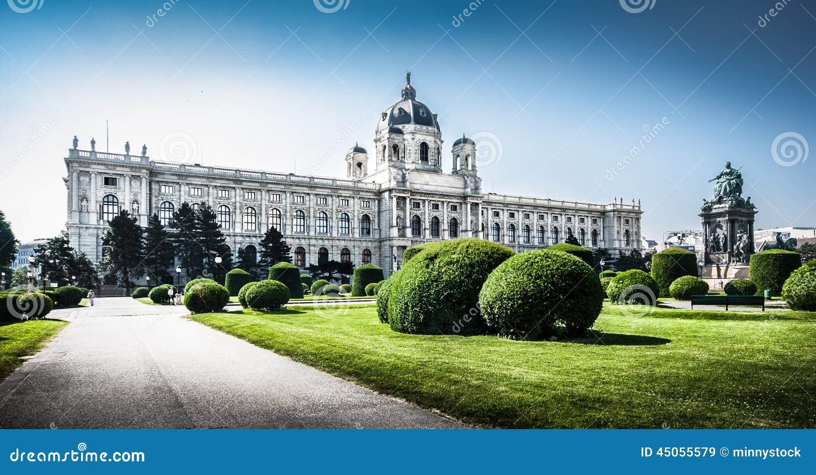 Museo famoso di Kunsthistorisches (museo di Art History) a Vienna, Austria