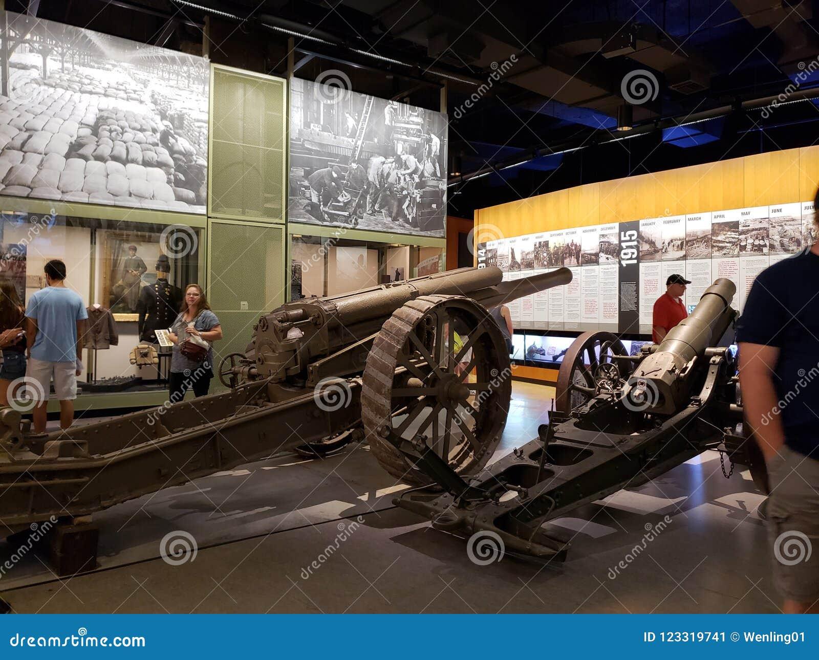 Museo Kansas interior Missouri los E.E.U.U. de la Primera Guerra Mundial