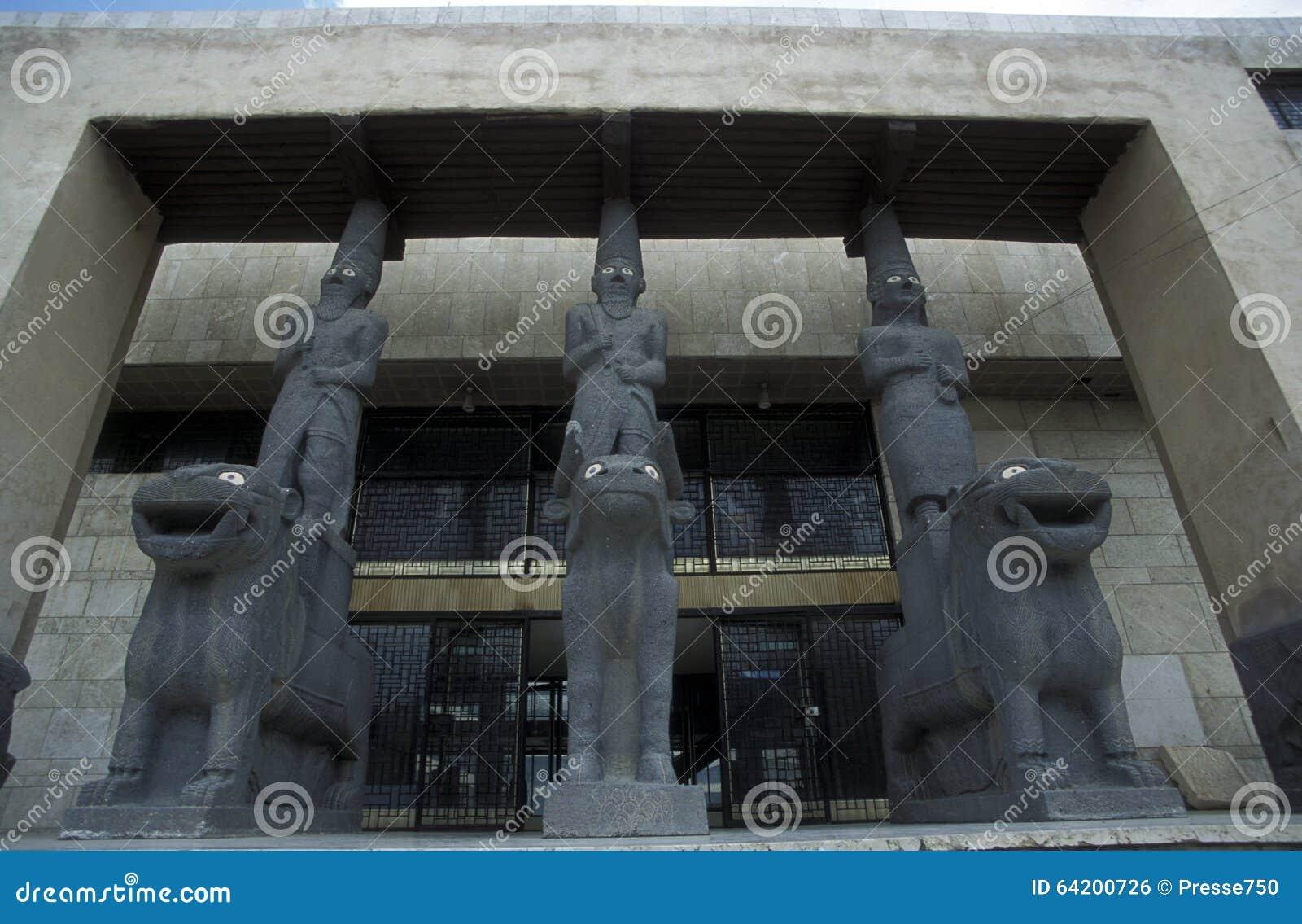 MUSEO NACIONAL DE ORIENTE MEDIO SIRIA DAMASKUS