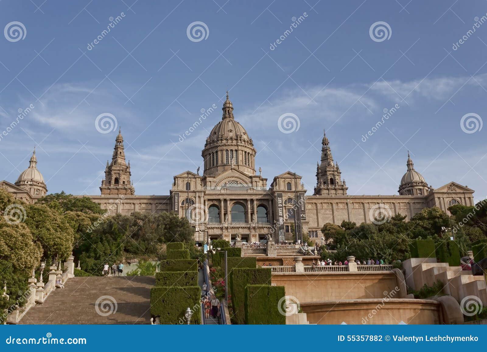 Museo nazionale di arte della Catalogna a Barcellona