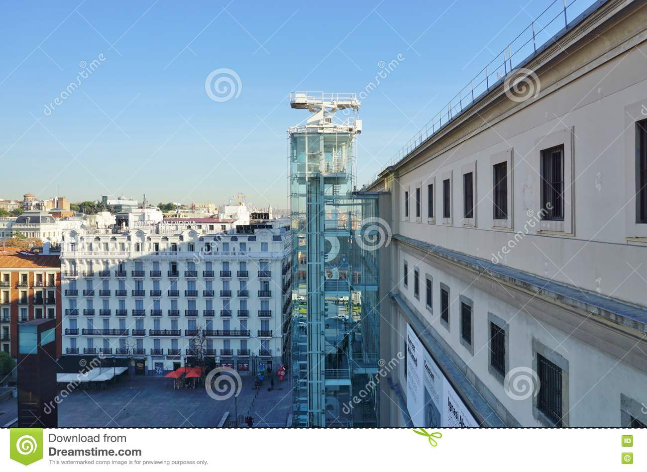 The Museo Reina Sofia Museum In Madrid Editorial Stock Photo Image