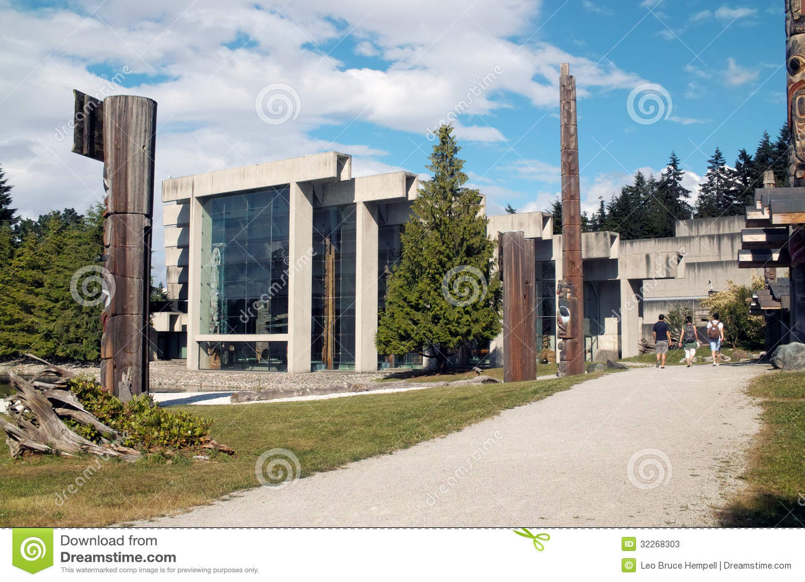Museu da antropologia, UBC, Vancôver BC