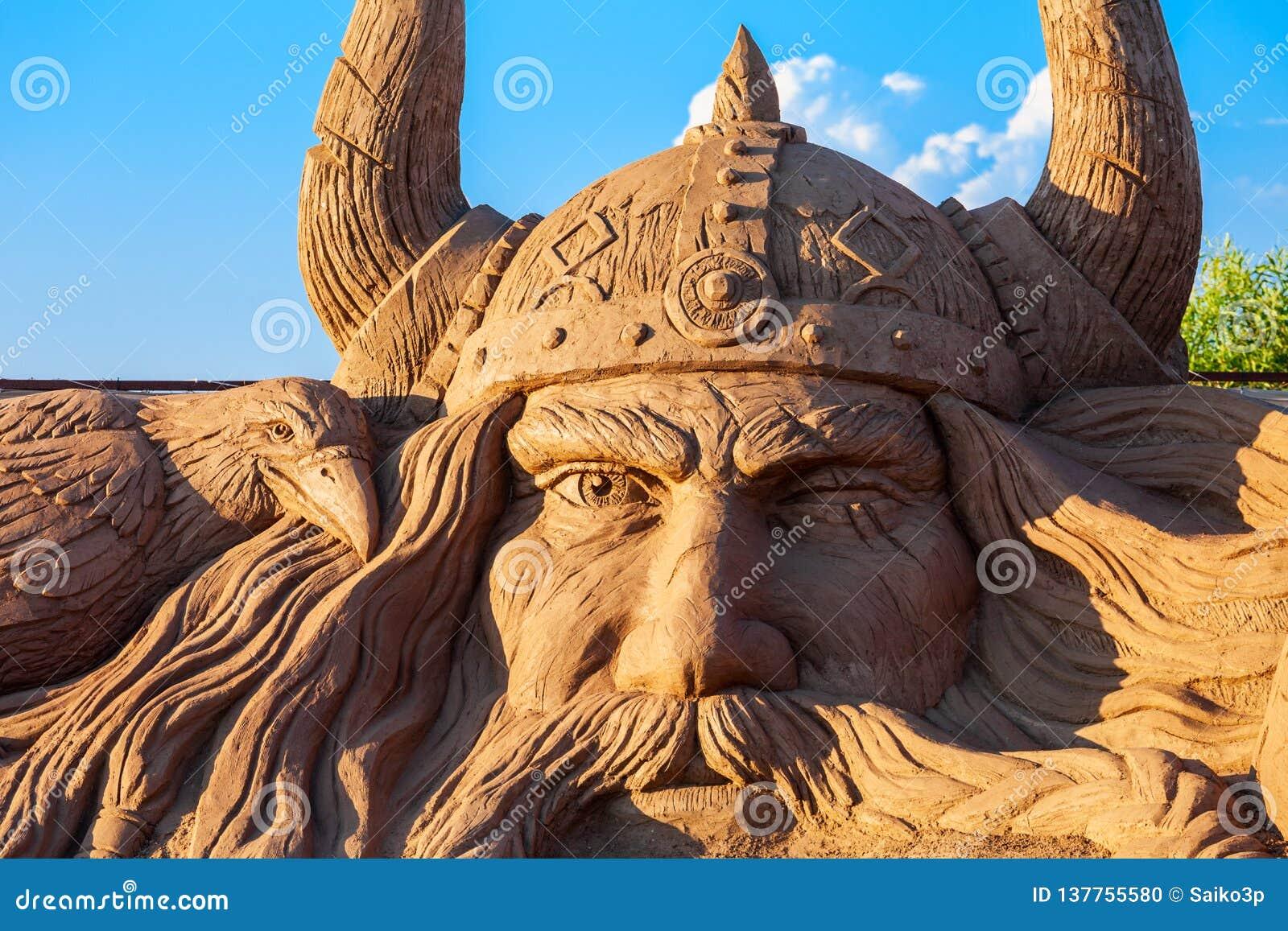 Museu da escultura da areia de Antalya Sandland