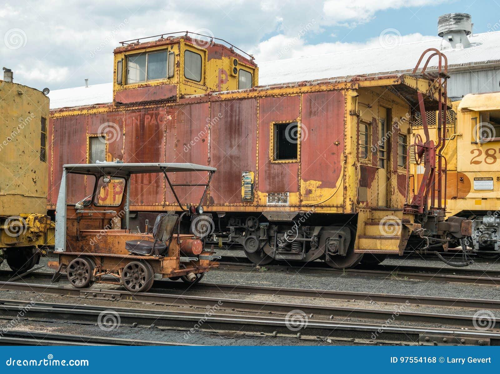 Museu da estrada de ferro de Portola do nostálgico
