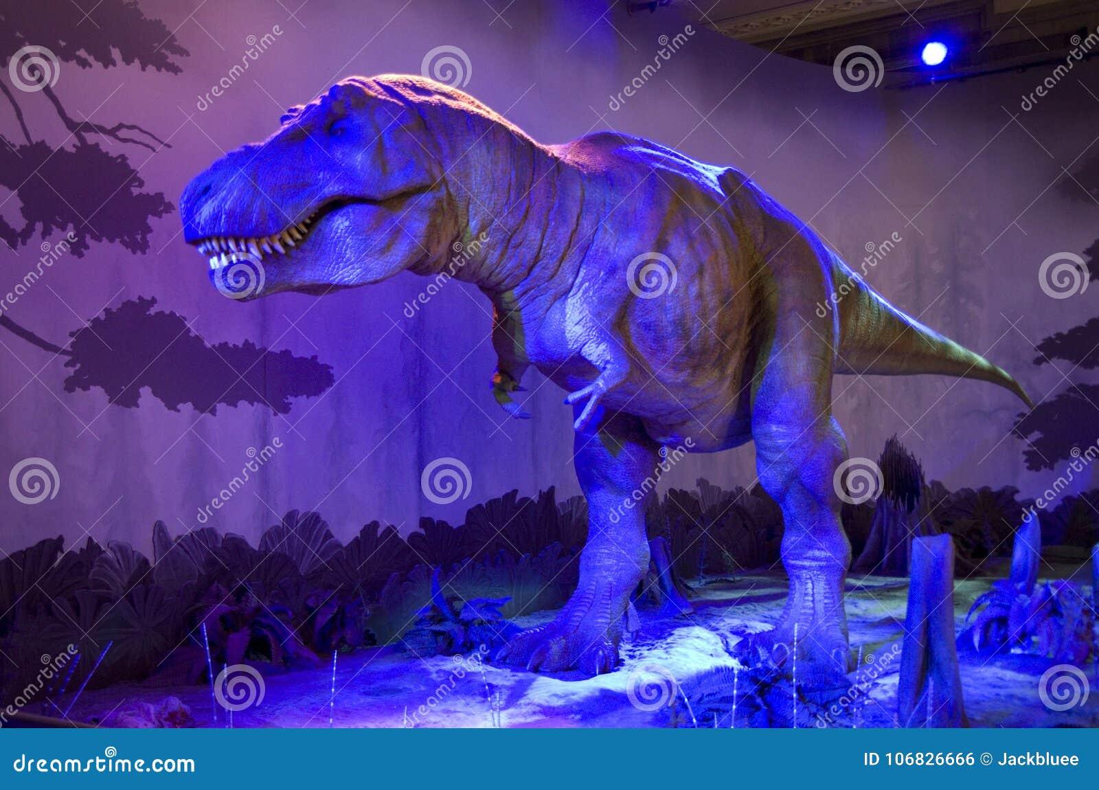 Museu de imitação Londres da história natural do dinossauro