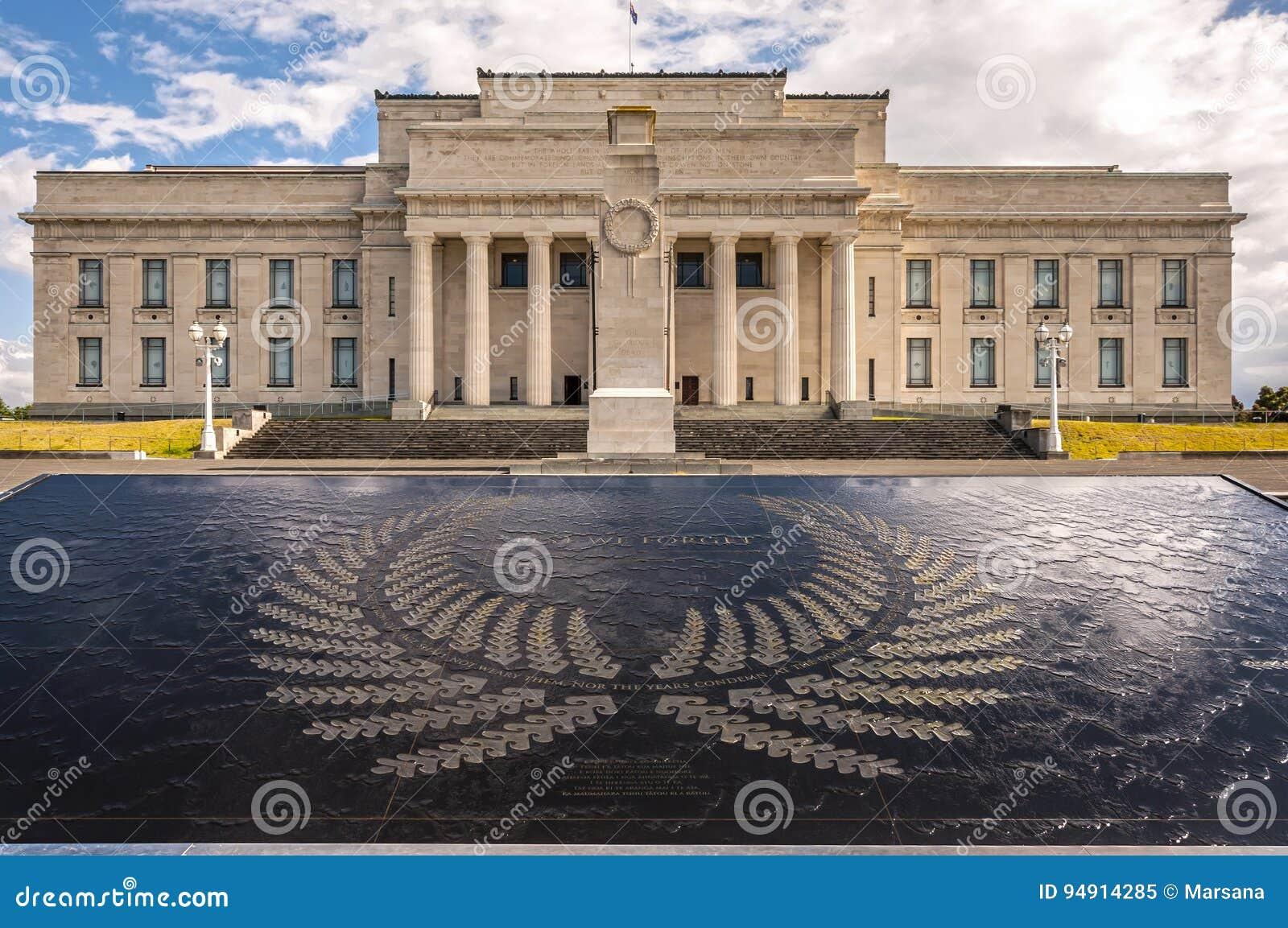 Museu do memorial de guerra de Auckland