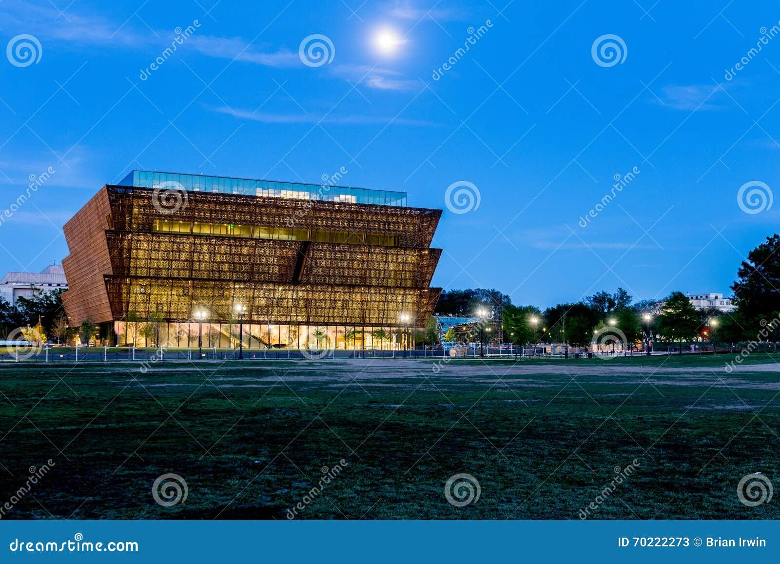 Museu Nacional da história afro-americano e da cultura sob o co