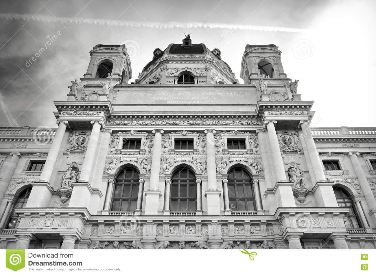 Download Museum Of Art History - Landmark Attraction In Vienna, Austria Stock Image - Image of classical, fine: 74274705