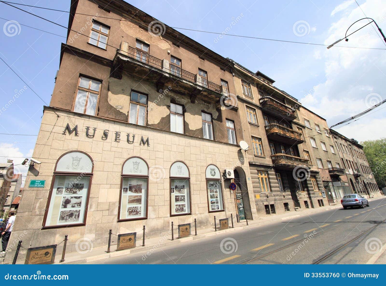 Museum Of Assassination Of Franz Ferdinand Editorial Image