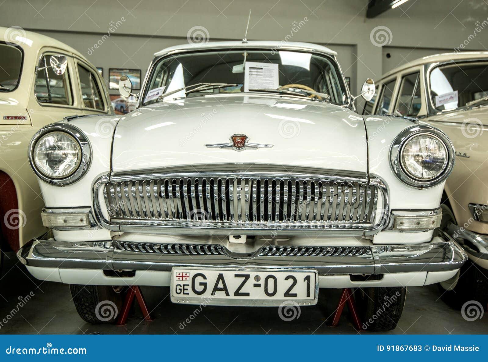 Museum av gamla sovjetiska bilar
