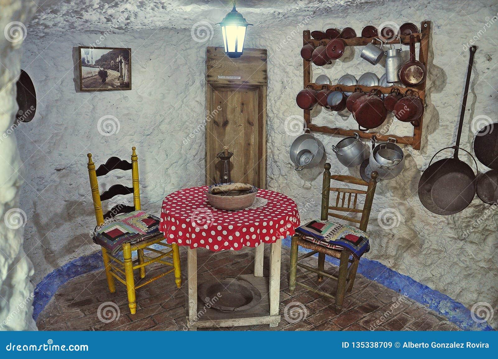 Museum Caves Sacromonte Of Granada Editorial Stock Image