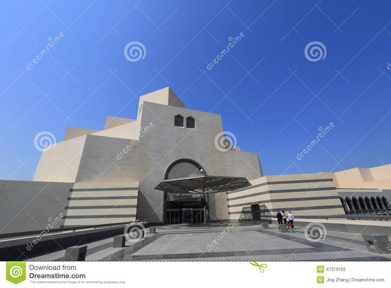 The museum of islamic art in qatar doha editorial for Architectural design company in qatar