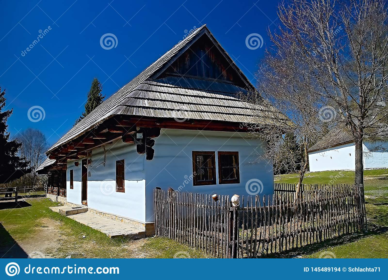 Museum of Liptov village in Pribylina, the youngest museum in nature in Slovakia