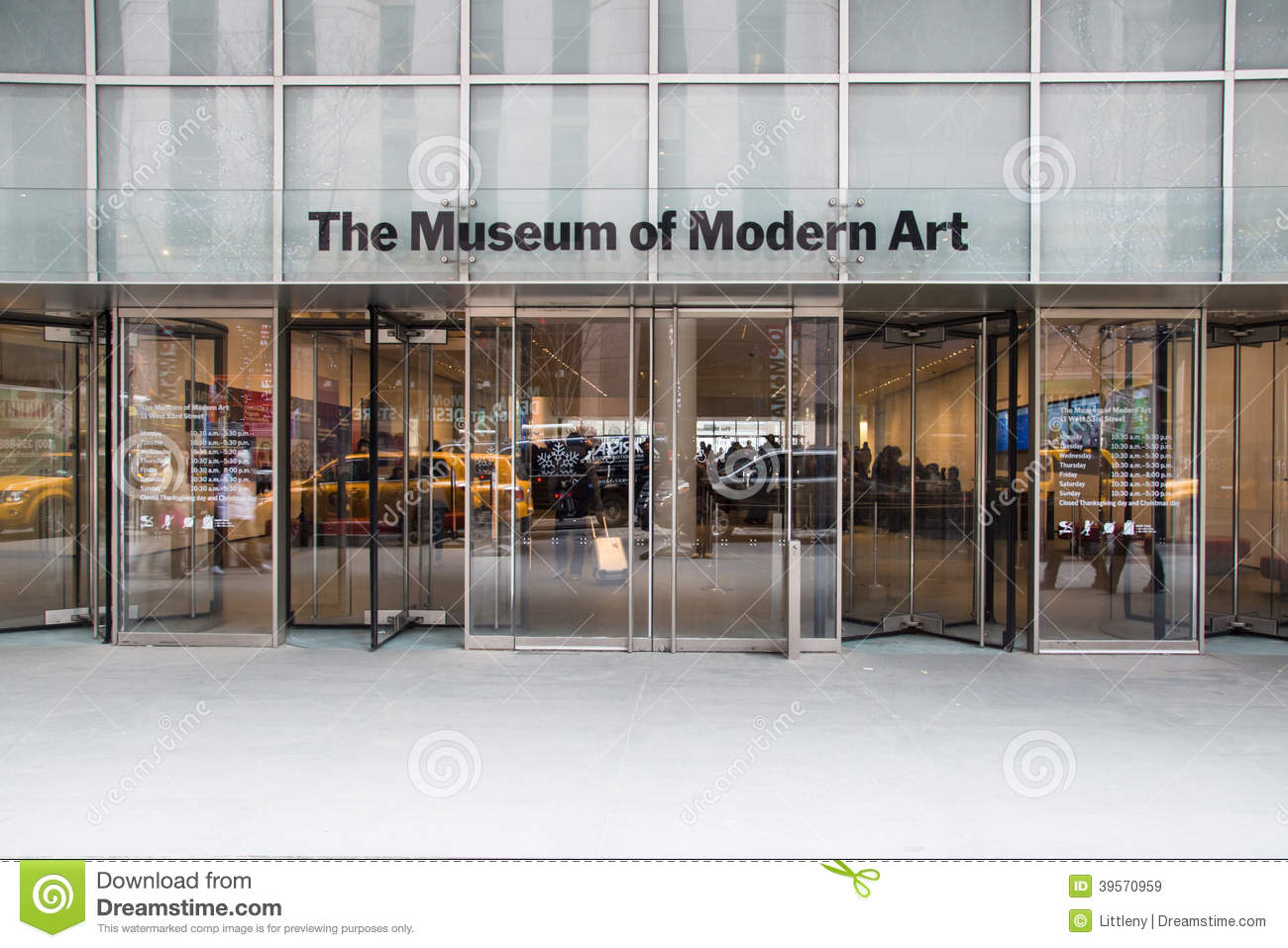 museum of modern nyc editorial stock image image 39570959