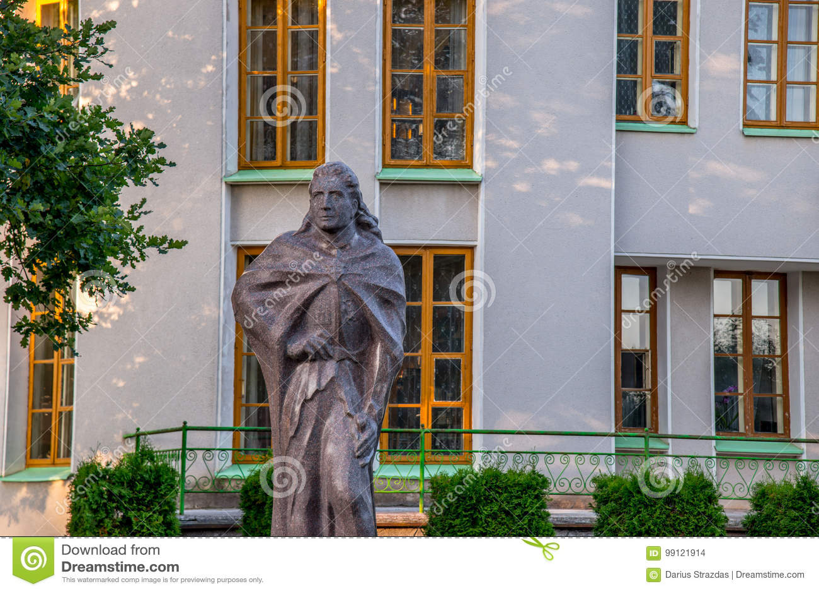 Museum och skulptur i Kernave