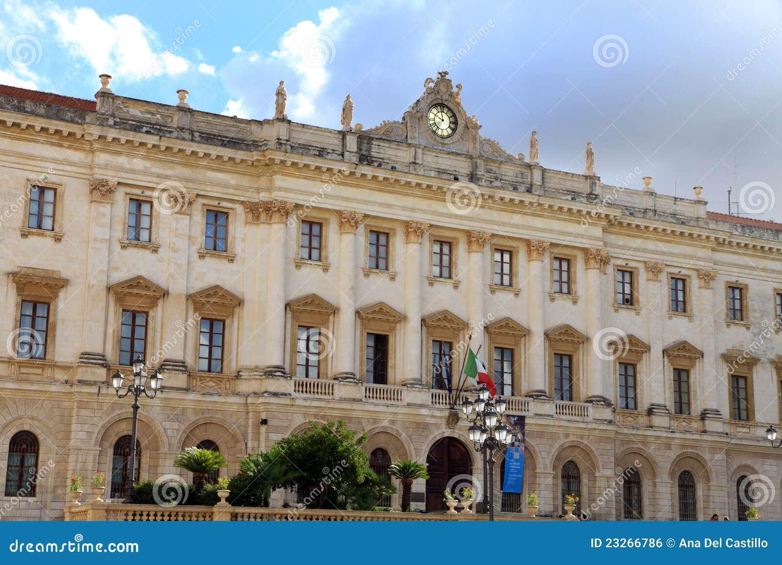 Museum Sassari Sardinia Italy Royalty Free Stock Image ...