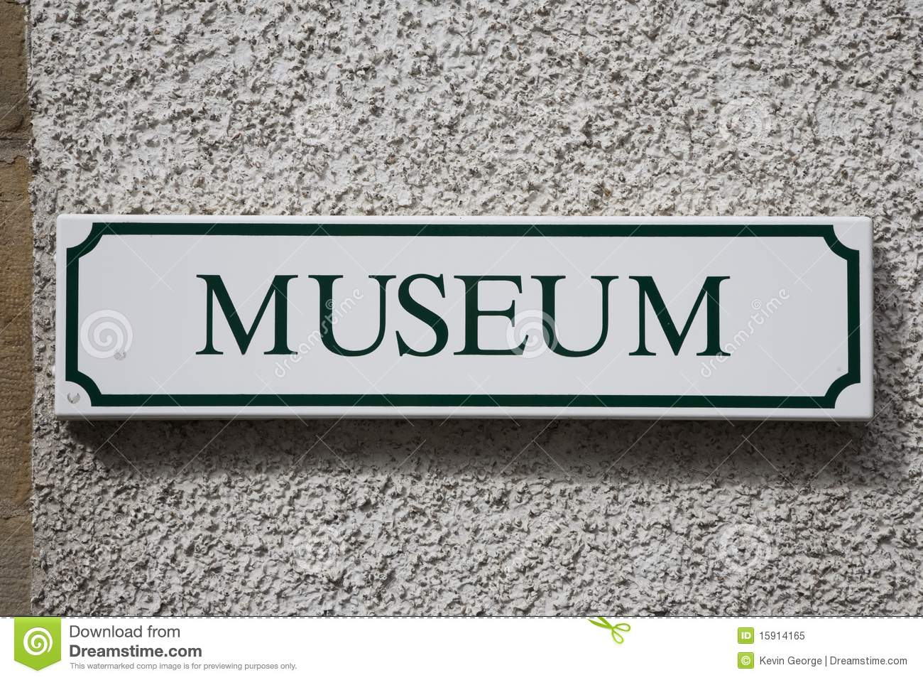 Museum Sign Royalty Free Stock Photo - Image: 15914165