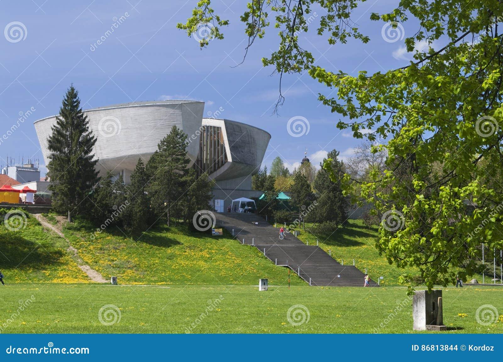 Museum Of Slovak National Uprising At Banska Bystrica Editorial