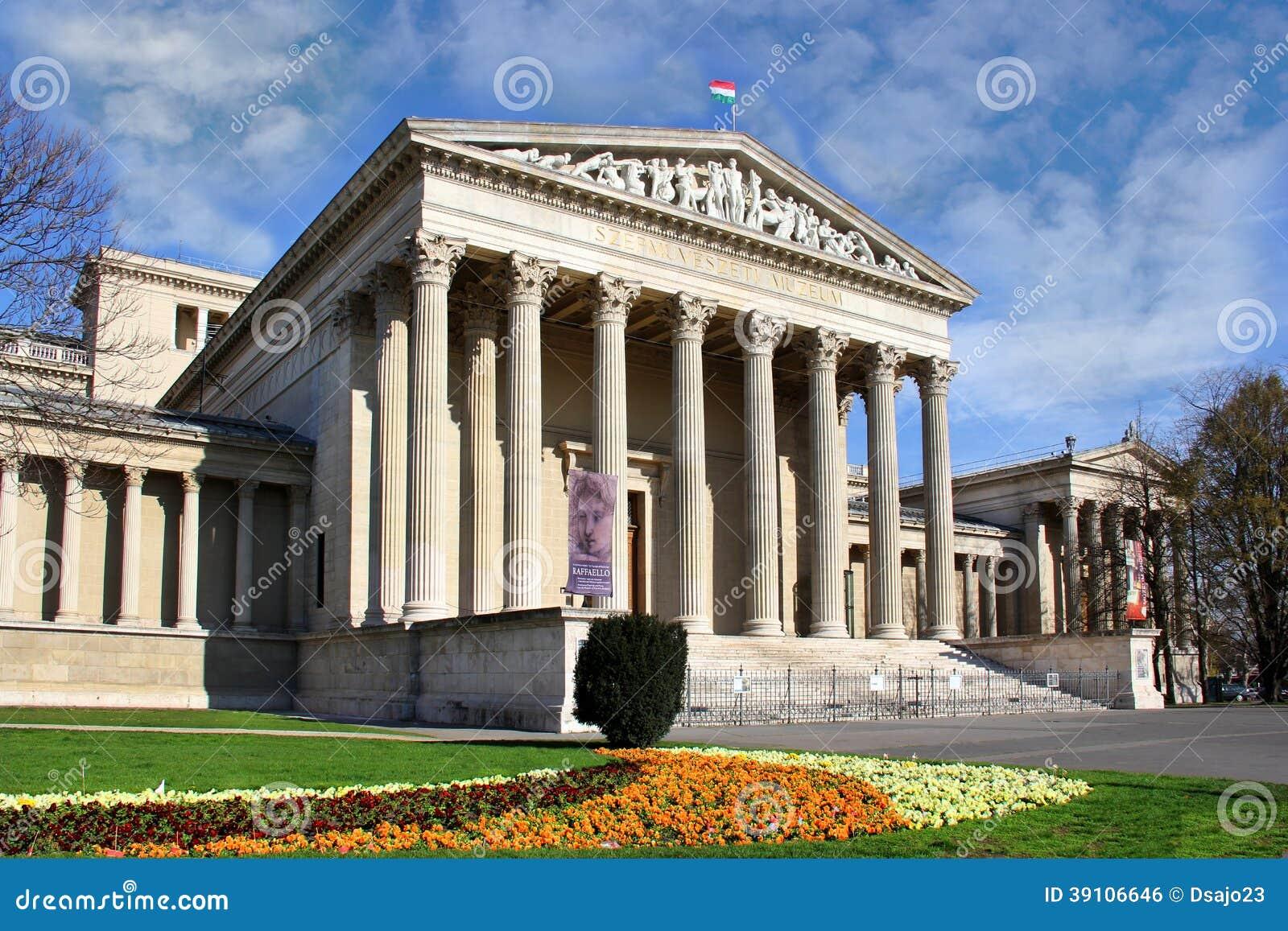 Museum van Beeldende kunsten in het vierkant van Helden, Boedapest