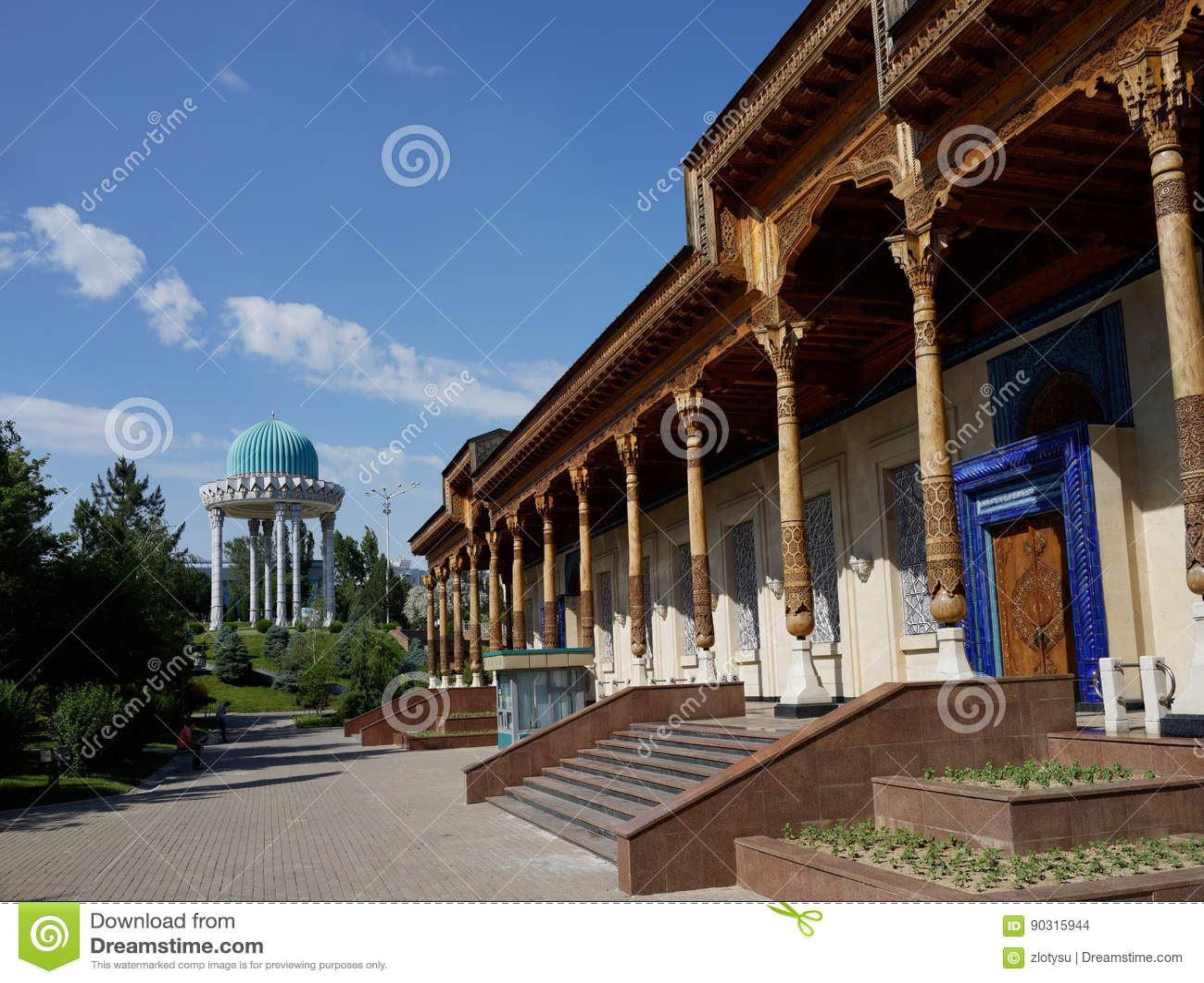 Museum van Geheugen van de Slachtoffers van Onderdrukking, Tashkent, Oezbekistan