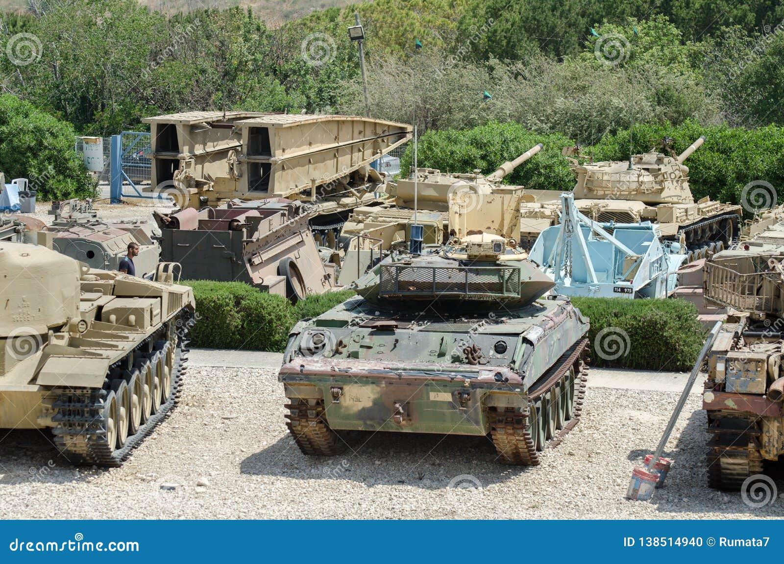 Museum van Latrun het Gepantserde Korpsen