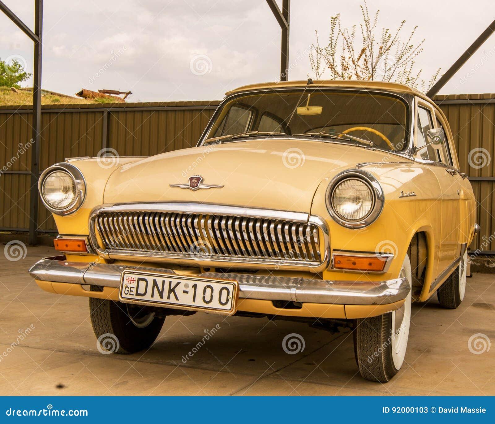 Museum van Oude Sovjetauto s