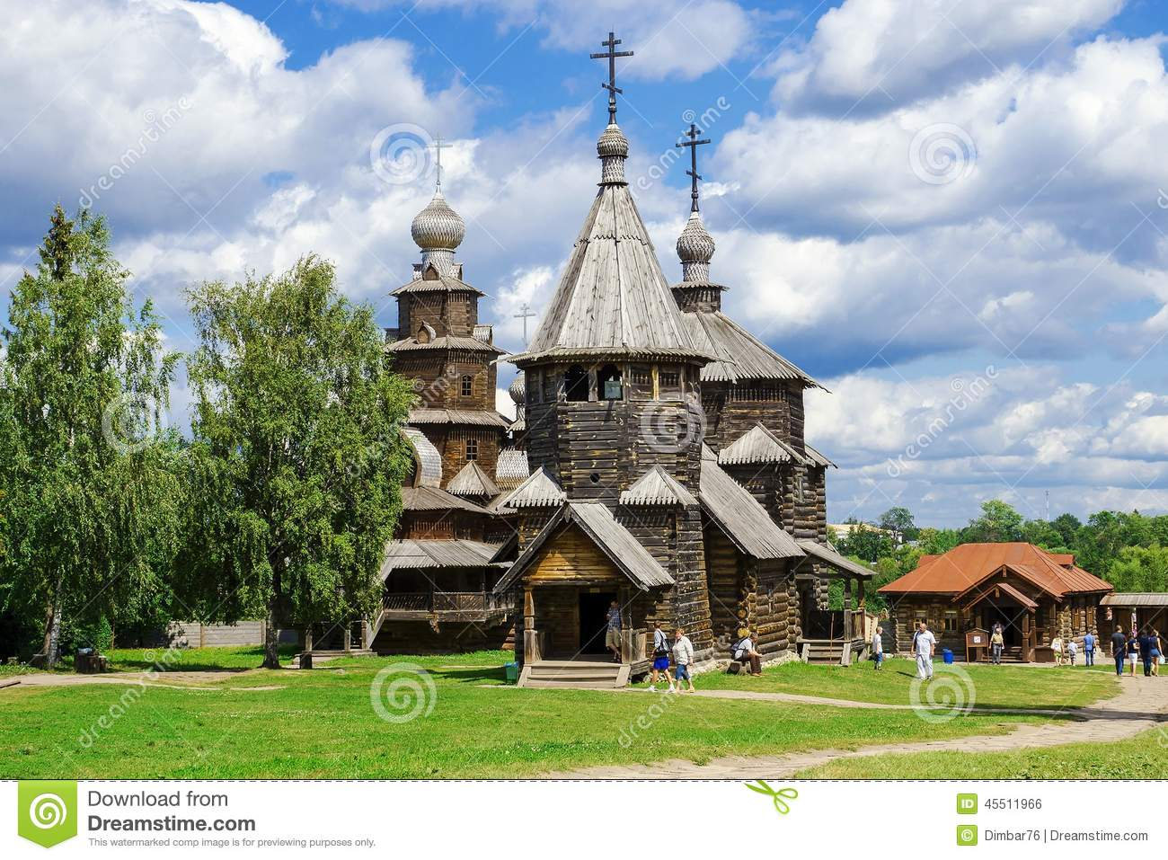 Suzdal - Museum of Wooden Architecture or the Ghost of the Dmitrievsky Pechora Monastery 11