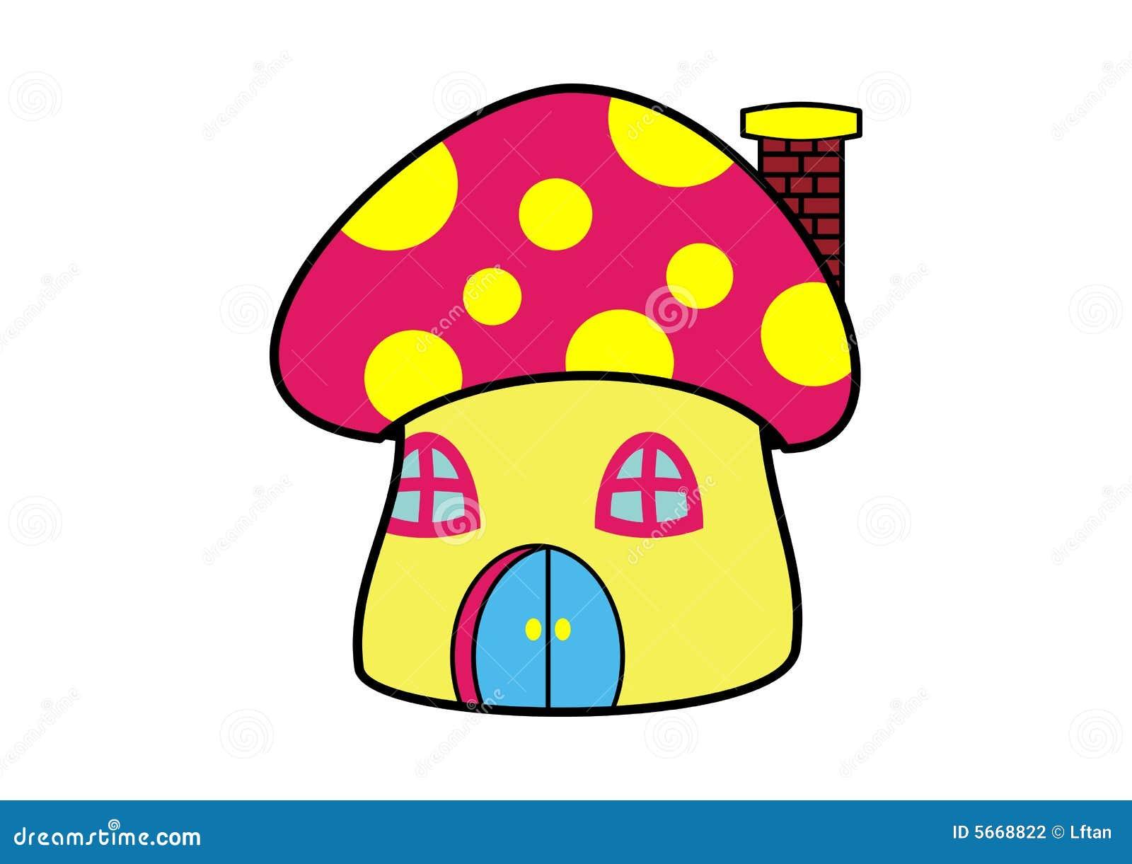Mushroom Clip Art Stock Photography