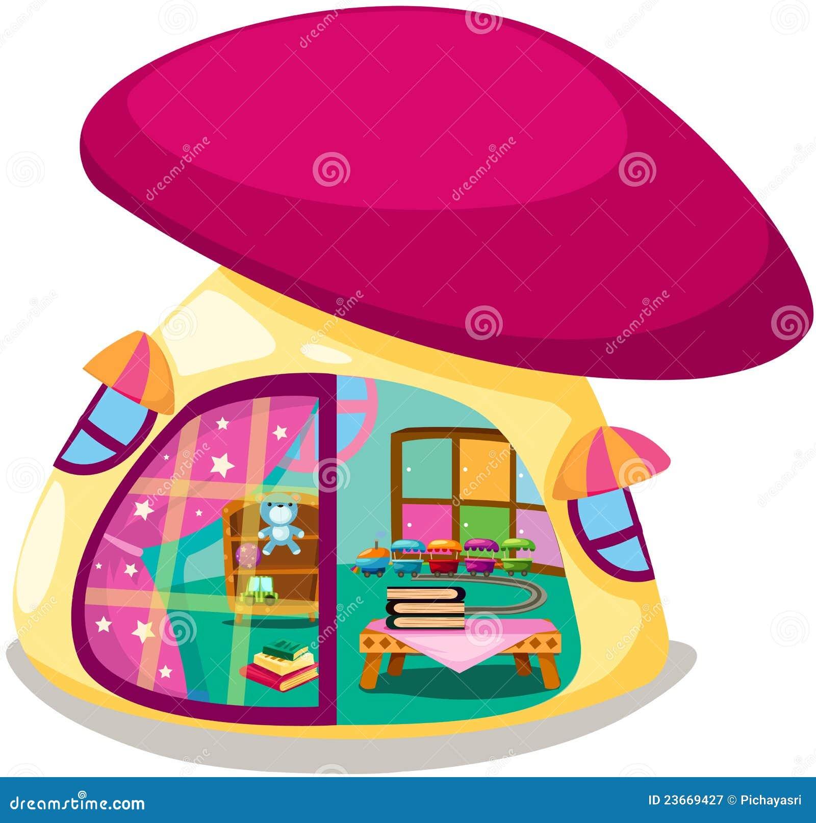 Download Mushroom playhouse stock vector. Illustration of building - 23669427