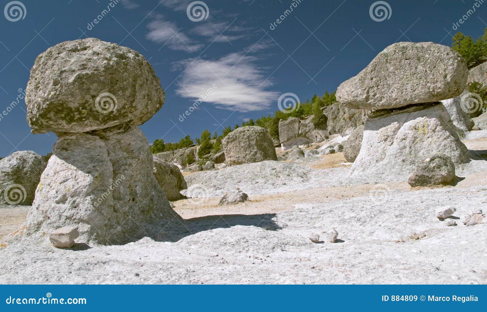 Mushroom Valley In Creel Stock Image Image Of Bizarre