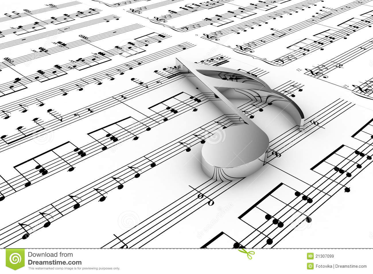music musical note written notes background silver royalty teacher illustration gograph illustrations dreamstime