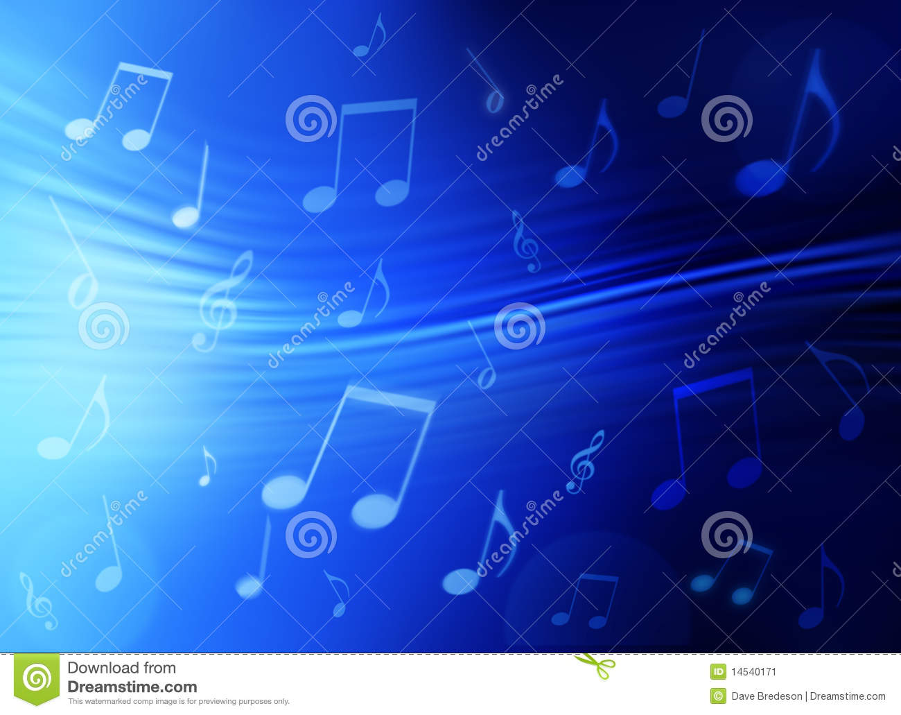 Music Abstract Backgrounds: Music Abstract Background Stock Image