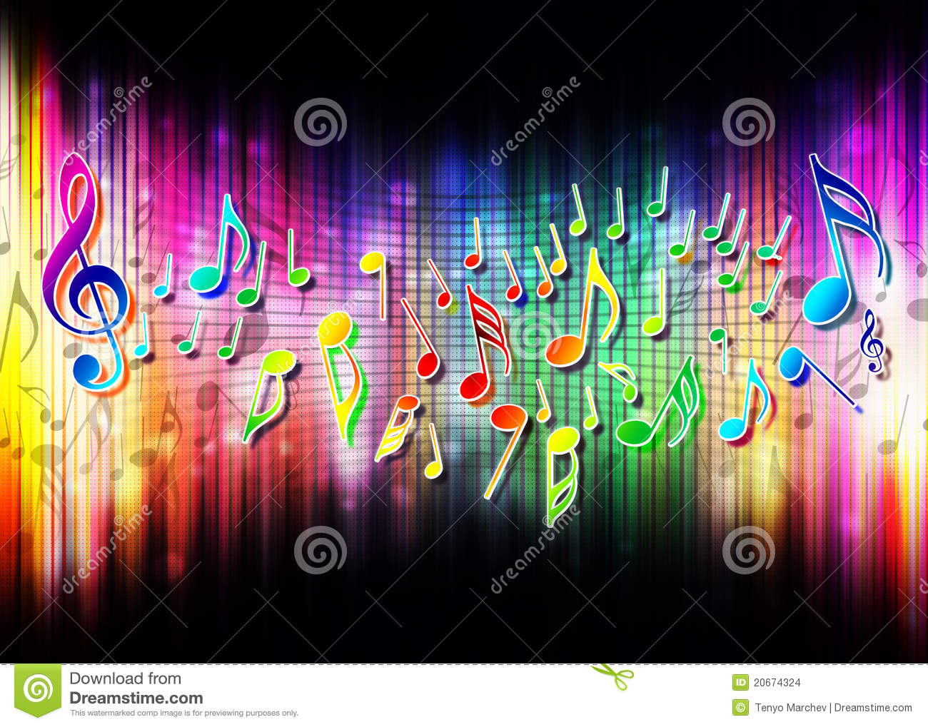Music Abstract Background Stock Images Image 20674324