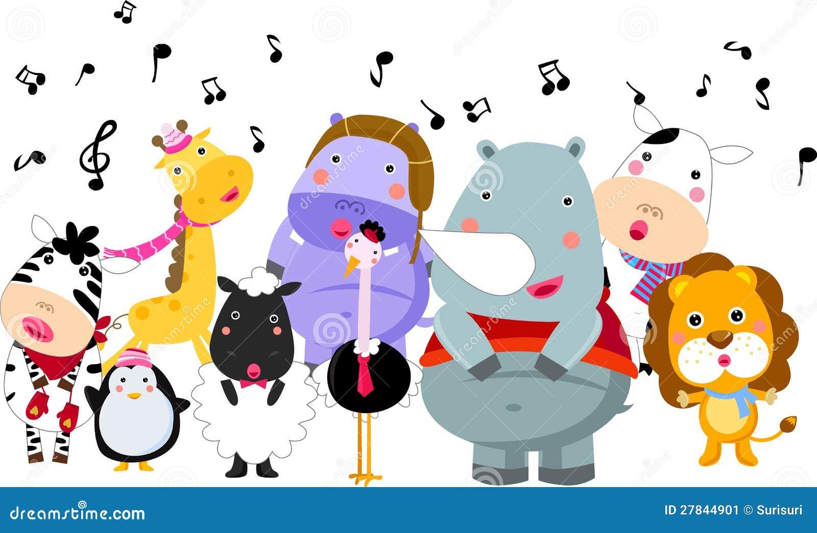 Music And Animal Stock Image Image 27844901