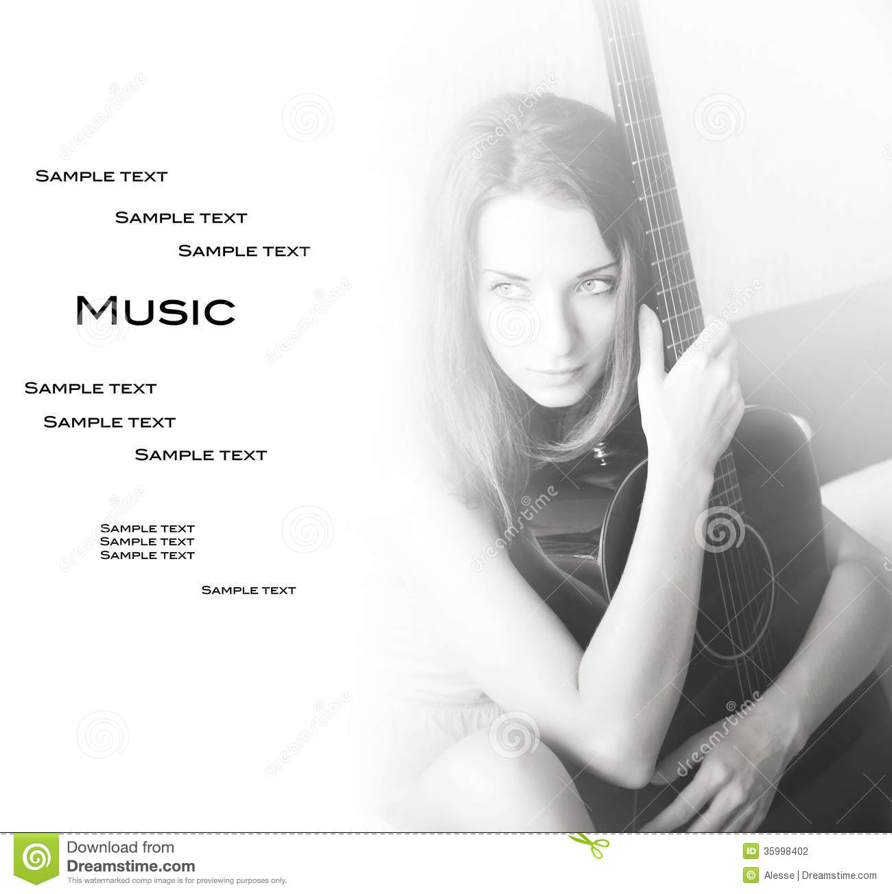 Music Stock Photo Image Of Guitar Long Instrument 35998402