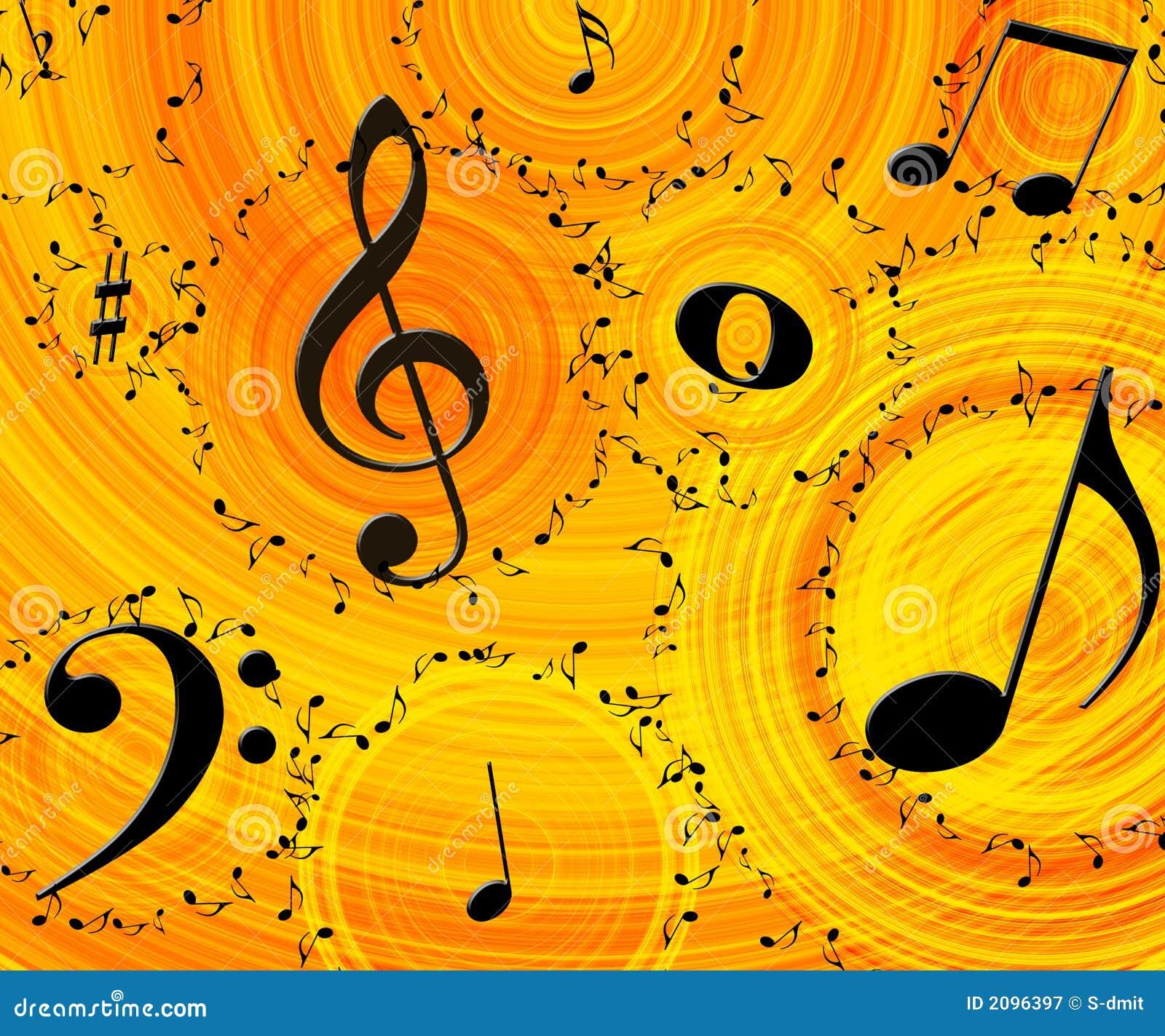 Music Background Royalty Free Stock Photography - Image: 2096397