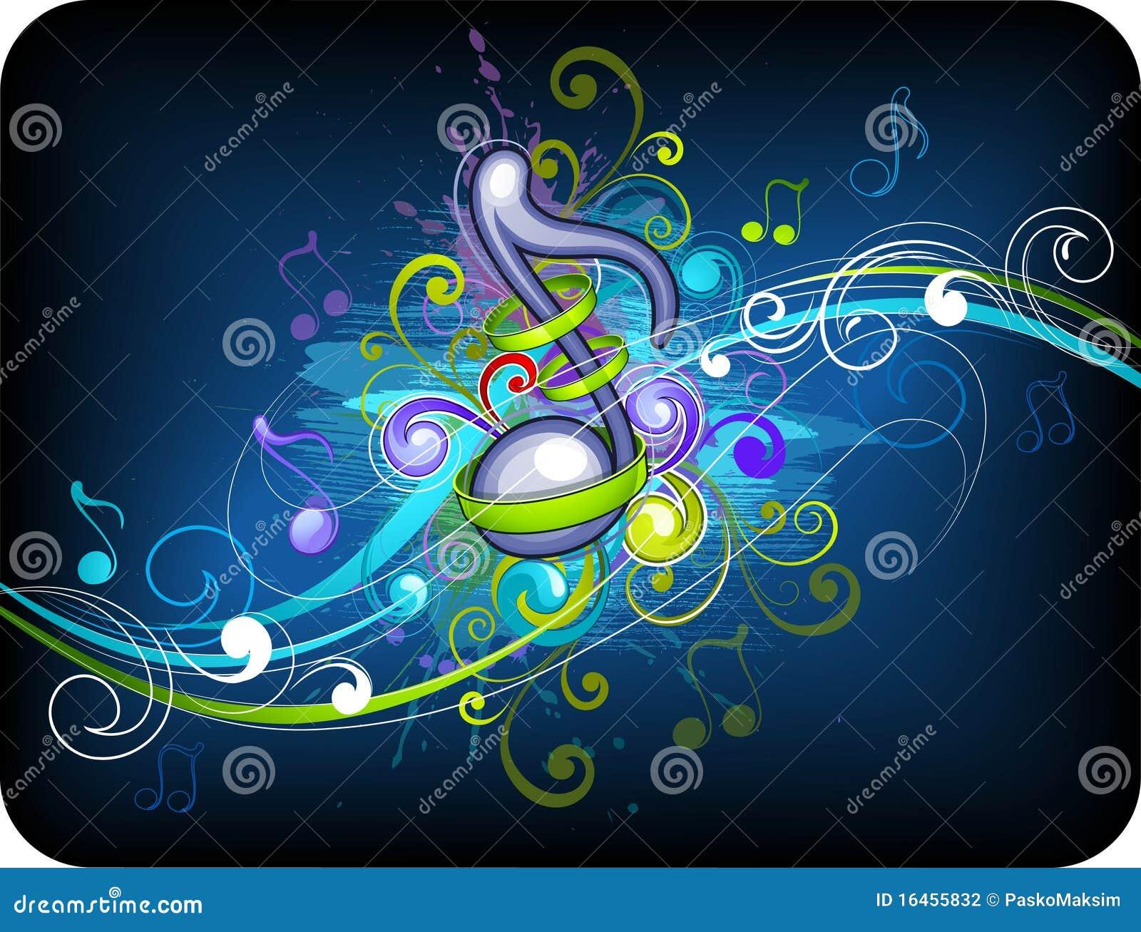 Music Background Design Stock Photography - Image: 16455832