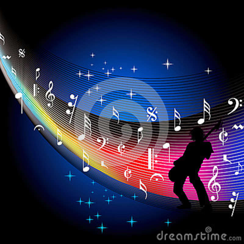 Music Background In Musical Event Stock Vector Illustration Of